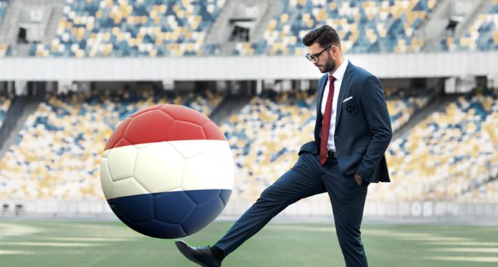 Gokken op voetbal is nu legaal in Nederland